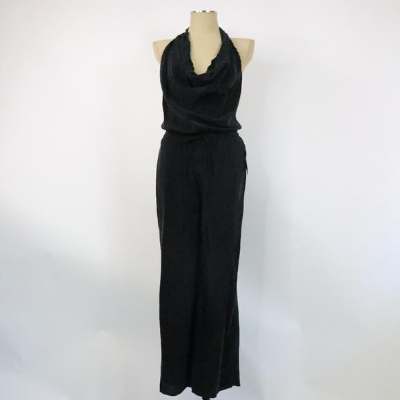 a636195282 NWT Zara Black Halter Jumpsuit - J0100